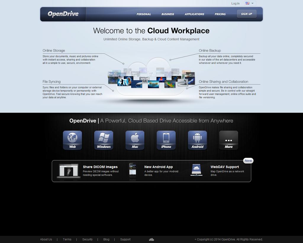 クラウドストレージ OpenDriveを導入してみた(1)